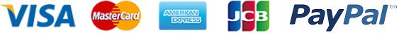Visa, MasterCard, Amercian Express, JCB et PayPal