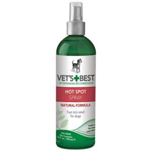 Spray hot spot soin chiens