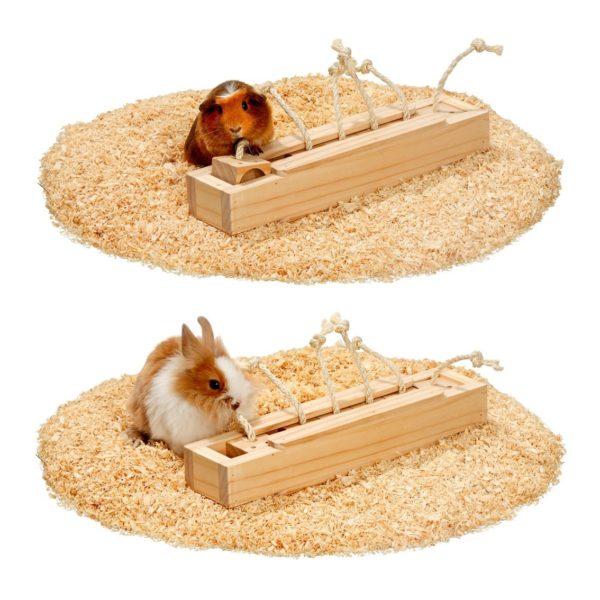 Jeu de brique 6 cases lapins cochons d'inde rongeurs