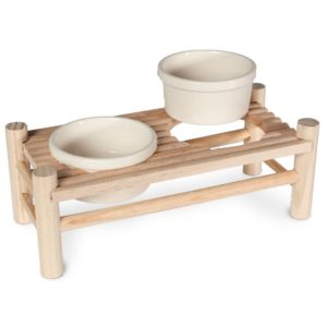 Set de Gamelles support en bois karlie