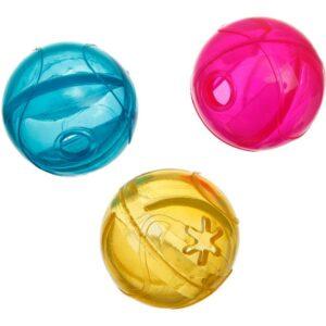 balle distributrice colorée