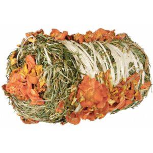Rouleau de foin carotte citrouille lapins rongeurs
