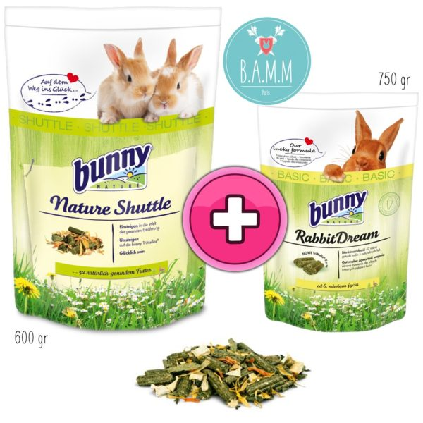 Nature shuttle Bunny nature transition alimentaire lapin