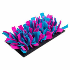 tapis de fouille feutre turquoise et rose Bunny Interactive 2