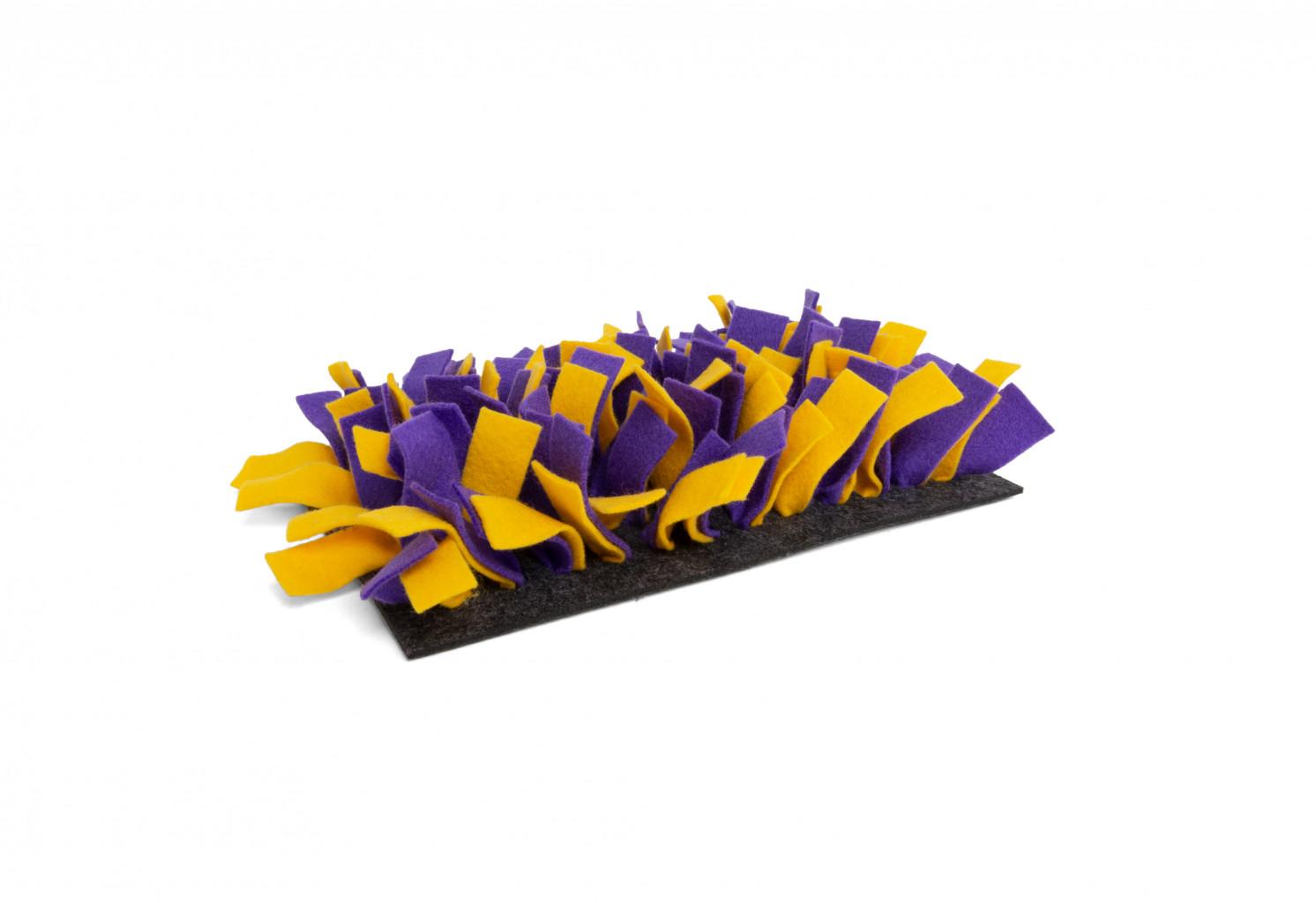 Bunny nature tapis de fouille jaune et violet