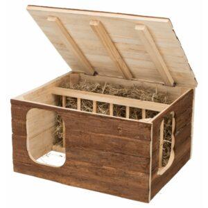 Maison râtelier intégré bois Hilke Trixie 3