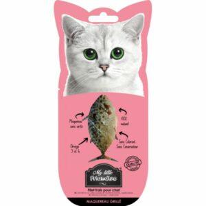 My little friandise naturelle pour chat maquereau