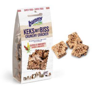 Crunchy Cracker Quinoa et Amarante bunny nature rongeurs
