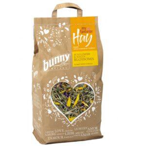 Mon foin préféré fleurs tournesol mauve prairies naturelles bunny nature