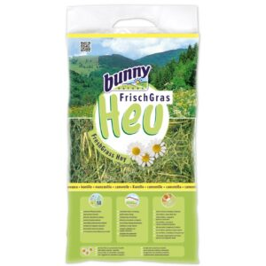 foin herbes fraîches bunny nature camomille